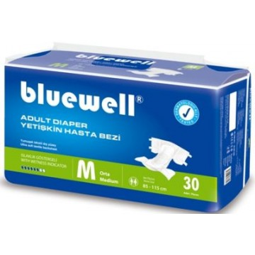 Bluewell Belbantlı Hasta Alt Bezi Medium